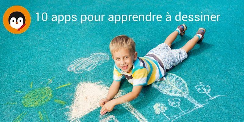 10 applications pour apprendre dessiner aux enfants - Apprendre a dessiner pour enfant ...