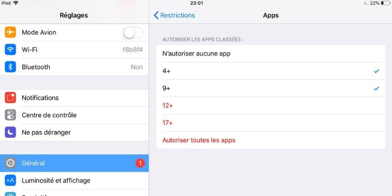 10 astuces ipad enfants apps