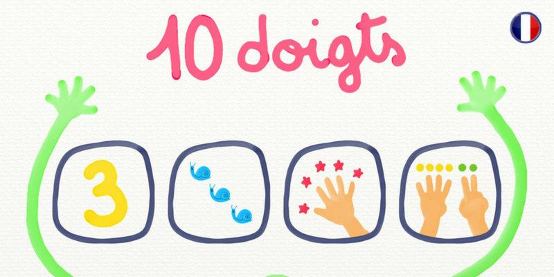 10 doigts apprendre à compter