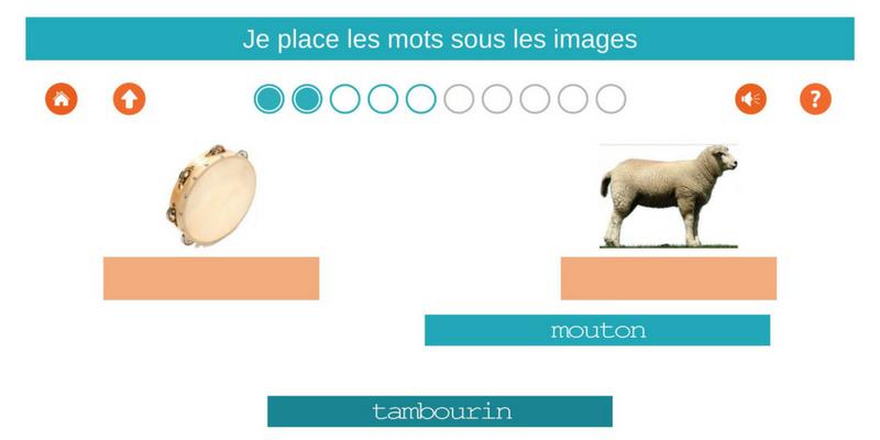 1000 mots CP / CE1 mouton