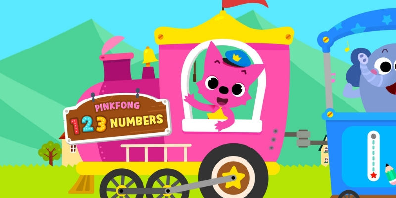 123 Numbers application enfant langue etrangere