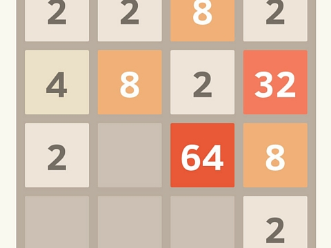 2048 application gratuite grille