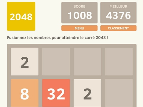 2048 application gratuite
