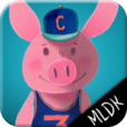 3 petits cochons livre interactif enfant
