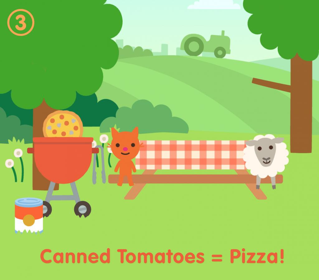 Sago Mini Farm Tomates
