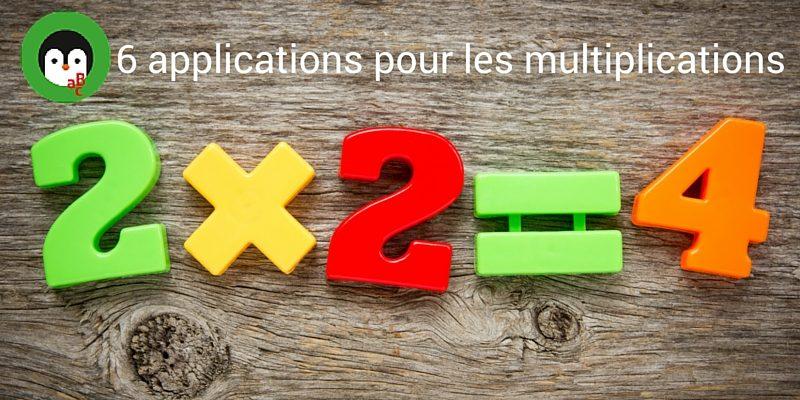 Resultado de imagen de tables de multiplier francais