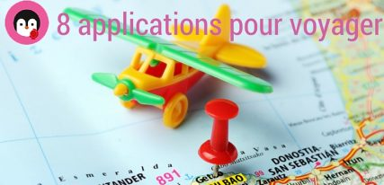 8 applications pour voyager