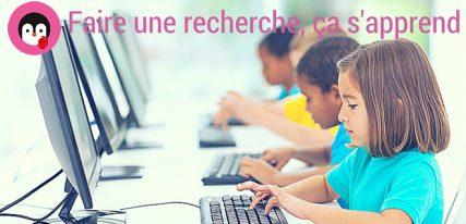 Apprendre à chercher sur le web