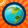 Atlas du monde icone