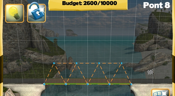Bridge Constructor budget