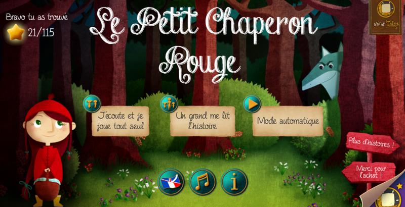 Chaperon-rouge livre interactif home