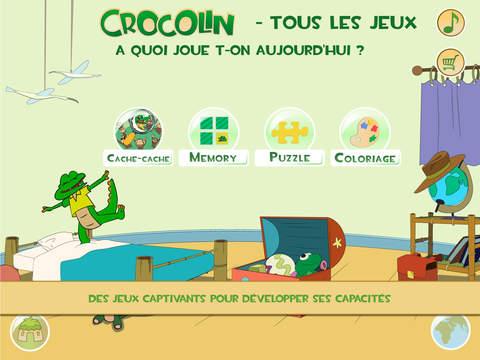 Crocolin jeux