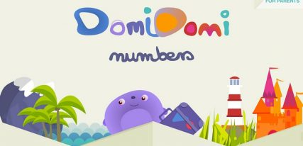 DomiDomi Numbers application enfant