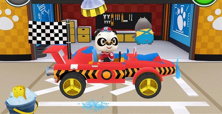 Dr Panda Racers voiture