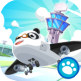 Dr Panda aeroport application enfant