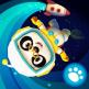 Dr Panda dans l'espace icone