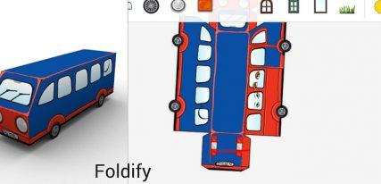 Foldify decoupage