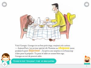 Georges dejeuner surprise