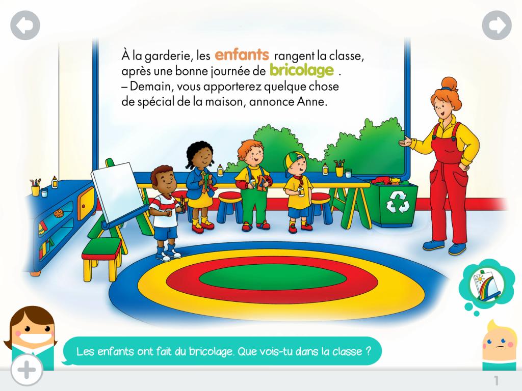 Caillou surprise livre interactif