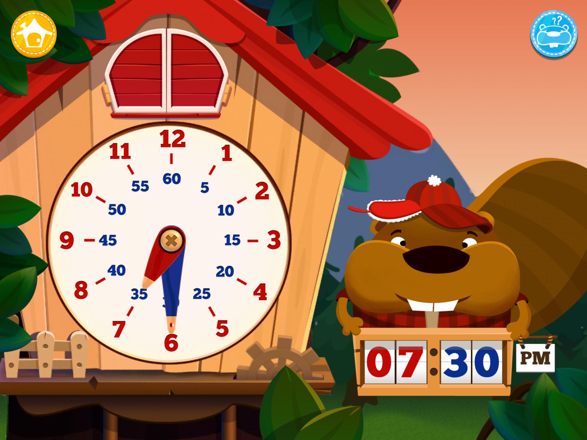 Application enfant lire heure