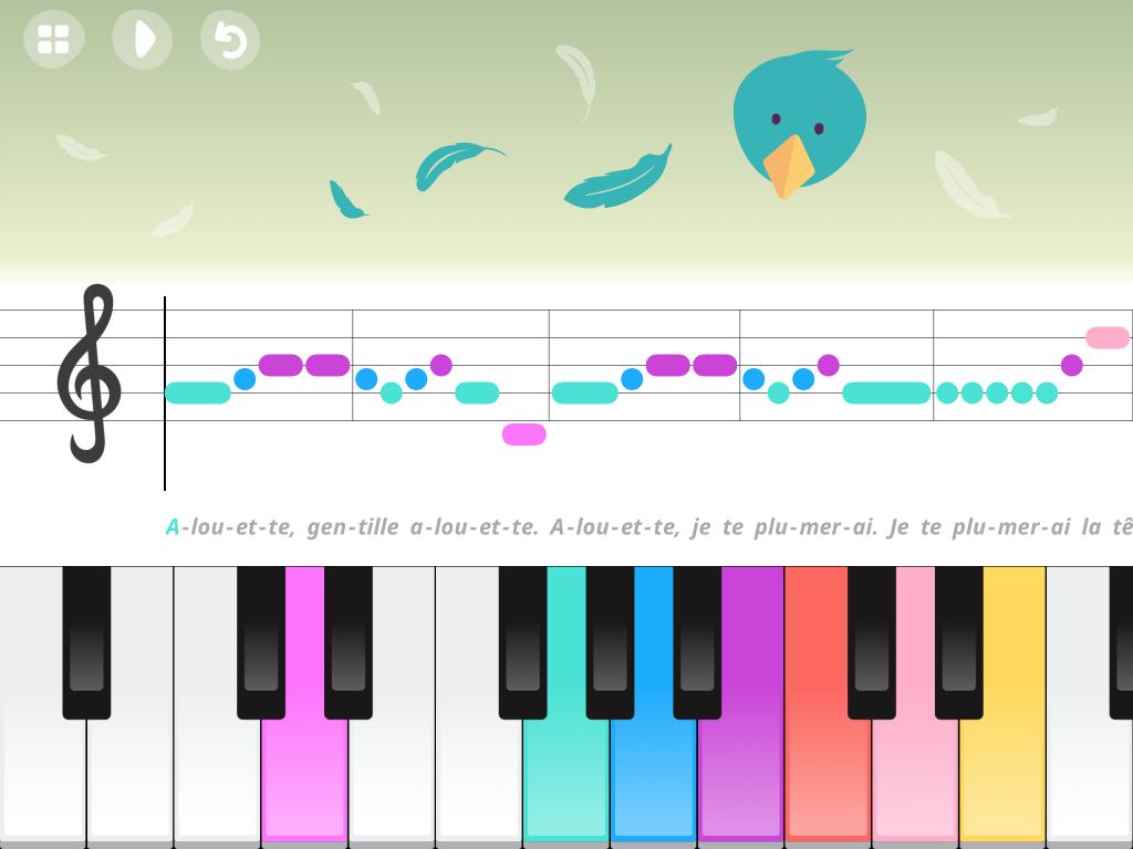 Musique et chanson - Piano pour enfants