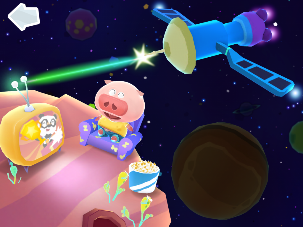 Dr Panda laser