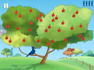 fables renard bleu pommier