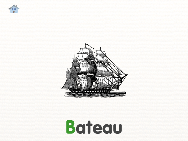 Vocabulle bateau