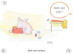 Le monde de Sam sac