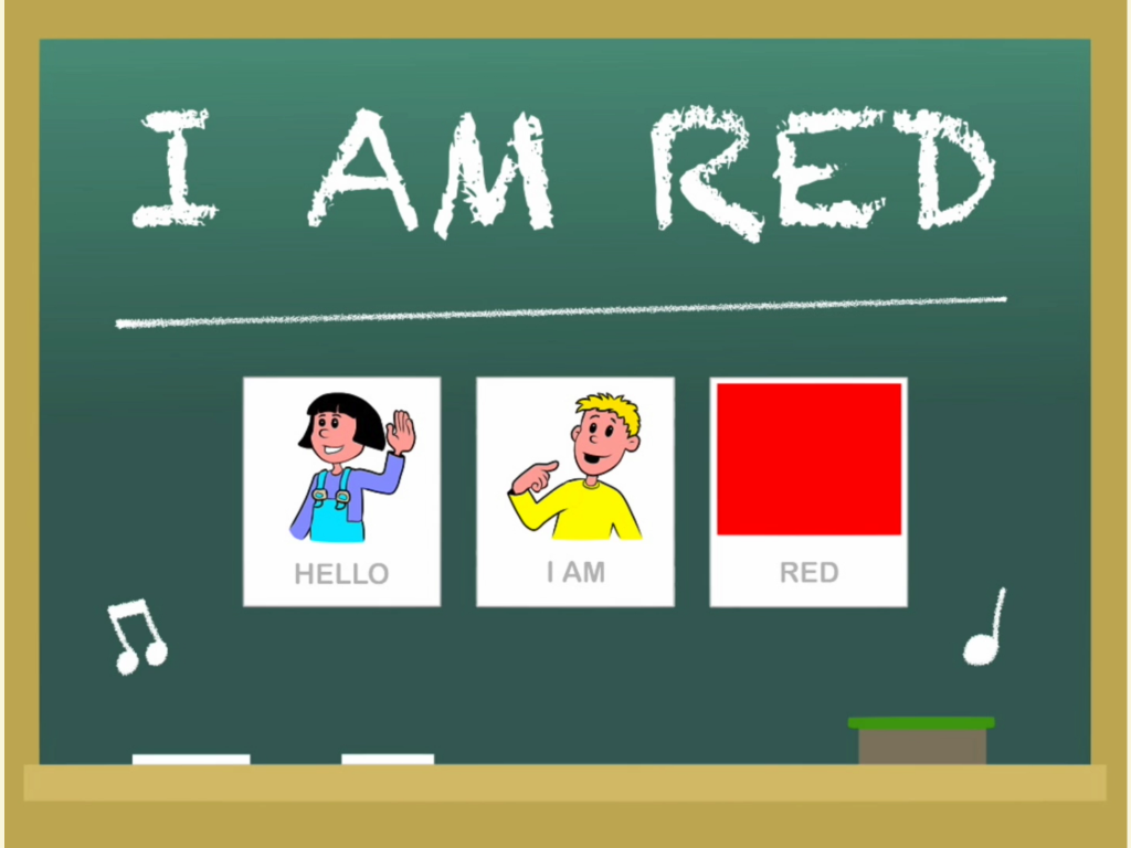 Picaschola english I am red