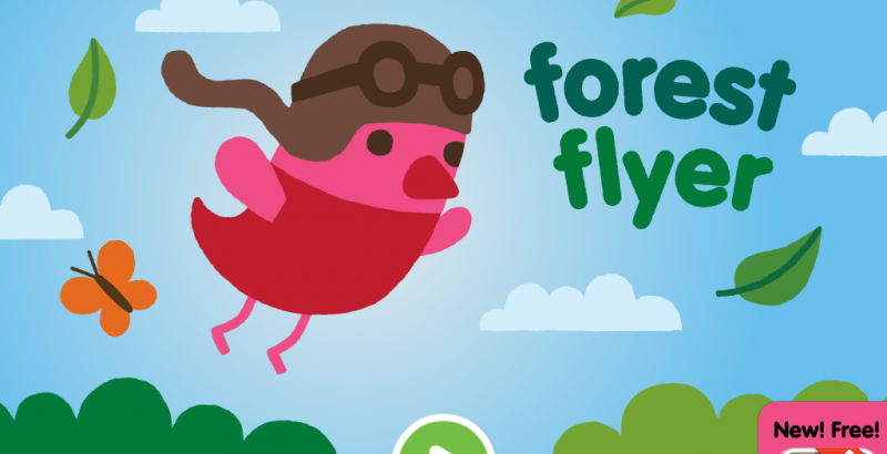 Sago mini forest flyer home