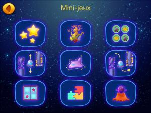 explorium cosmos mini jeux