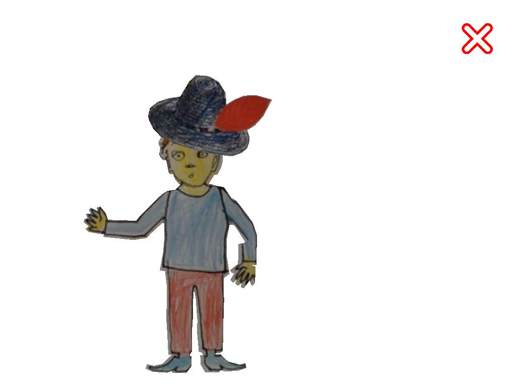 Cahier dessin animé personnage