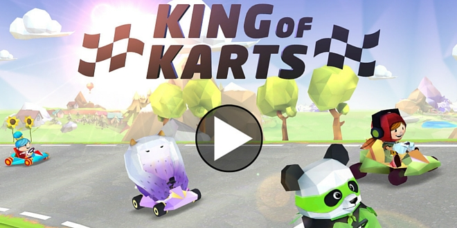 King-of-Karts app enfant