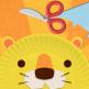 Labo paper plate lion icone