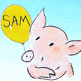 Le monde de Sam application enfant