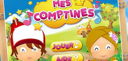 Mes-comptines home