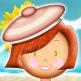 Rose Milany à la plage
