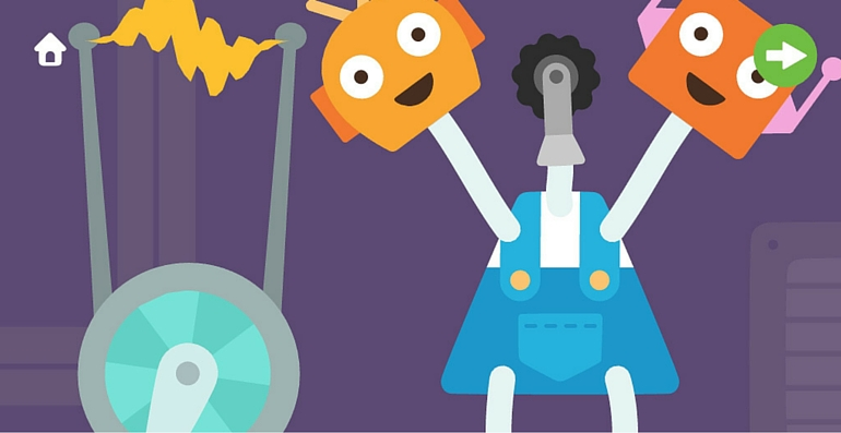 Sago mini Fête des robots energie