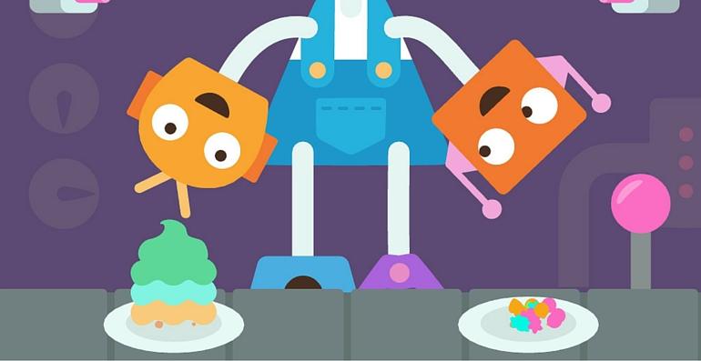 Sago mini Fête des robots gateaux