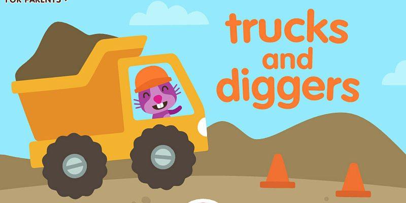 Sago-mini-trucks