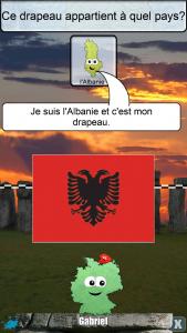 Tas de pays albanie