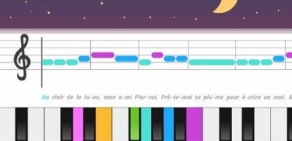 Musique et chanson - Piano pour enfants une