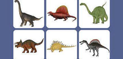 Memory Dinosaures une