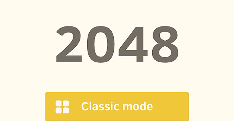 2048 application gratuite Une