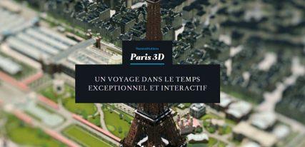 Paris 3D Saga une