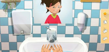 L'aventure du lavage des mains d'Ella une