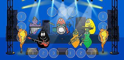 Barbapapa et les instruments de musique une