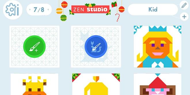 Zen-studio relaxation application enfant