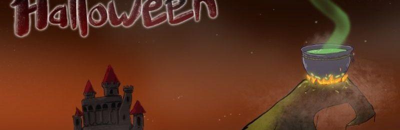 ABC Halloween application lettres liées